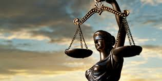 Scales of Justice representing legal help